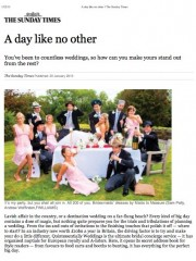 sunday times – a day like no other