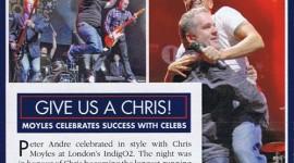 MOYLES TOUR in OK Magazine