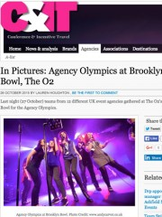 Agency Olympics @ Brooklyn Bowl – C&IT Magazine