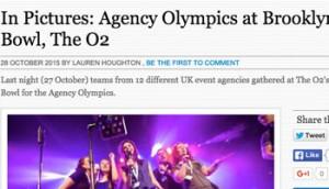 Agency Olympics @ Brooklyn Bowl – C&IT Magazine
