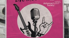Rockaoke in aid of the Alzheimer's Society