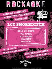 Nights @ LCC in April and May
